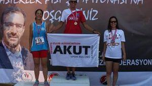 AKUT Spor Kulübü Derneği Atletizm Branşından 4 Birincilik