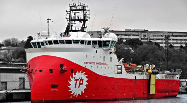 Barbaros Akdeniz'de gaz ve petrol aramaya çıkıyor!