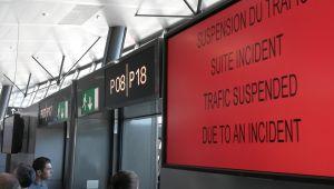 Fransa'da havalimanında güvenlik alarmı