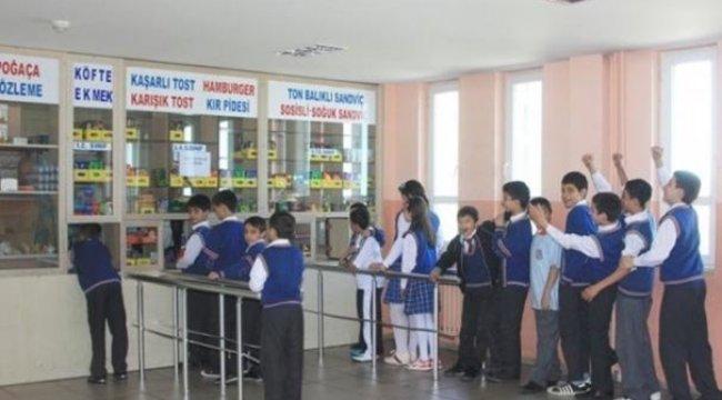 Okul kantinlerinde yeni dönem
