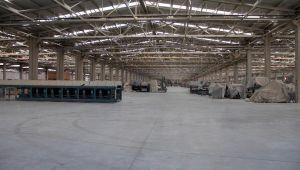 Seramik fabrikasında, üretim durduruldu