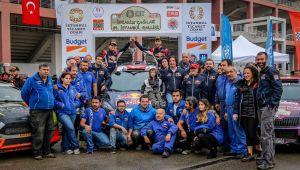 Türkiye Ralli Şampiyonası 6'ncı yarışında Ford Motorsport Türkiye fırtınası esti!