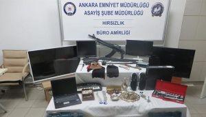 Başkentte vatandaşı canından bezdiren hırsız kardeşlere polisten suçüstü