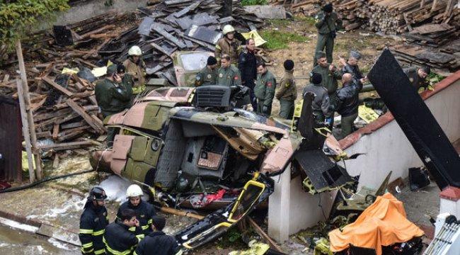 Başsavcılık helikopterin düşmesi sonucu şehit olan askerlerin isimlerini açıkladı