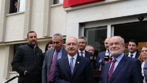 Son dakika... Kılıçdaroğlu ve Karamollaoğlu görüşmesi 1 saat sürdü