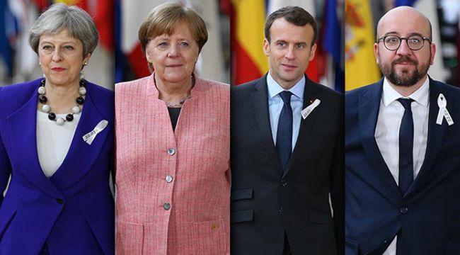AB Liderler Zirvesi Brexit gündemiyle başladı