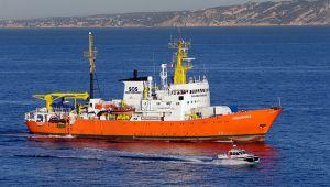 Aquarius artık Akdeniz'de göçmen aramayacak
