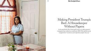 New York Times: Trump'ın golf tesisinde belgesiz işçi çalıştırıldı