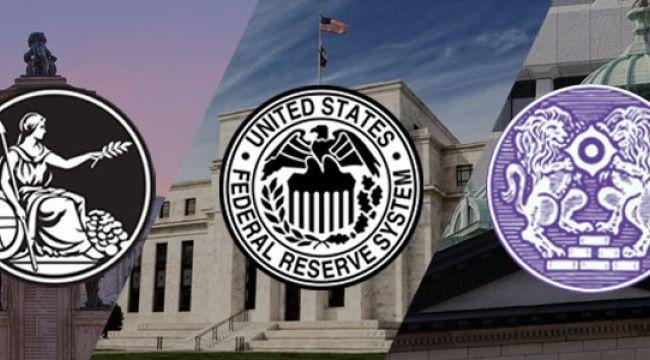 Piyasaların gözü üç merkez bankasında