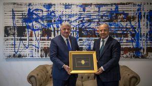 THY Genel Müdürü'nden Demirören Medya Grubu Başkanı Mehmet Soysal'a ziyaret