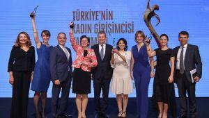 Türkiye'nin İlham Veren Girişimci Kadınları Ödüllerini Aldı