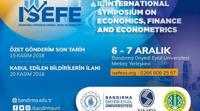 Üç Üniversitenin Katılacağı Ortak Sempozyum Bandırma'da başlıyor.
