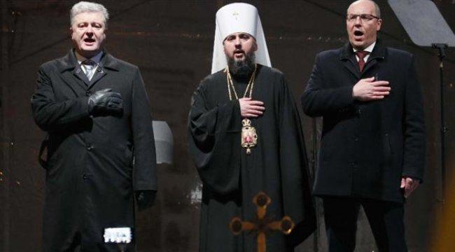 Ukrayna'da birleşik bağımsız kilise kuruldu