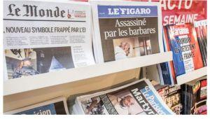 Fransızların medyaya duyduğu güven en düşük seviyede