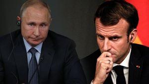 Putin ile Macron'dan kritik Suriye görüşmesi!