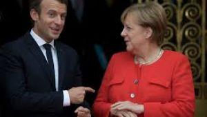 Macron ve Merkel'den Brexit açıklaması