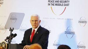 Pence'ten Varşova'da Avrupa'ya İran Mesajı