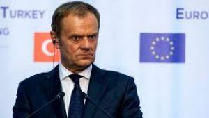 AB/Tusk: AB, Brexit'te 22 Mayıs'a kadar şartlı erteleme teklif edebilir