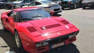 Ferrari'nin test sürüşünde şok! Bunu kimse beklemiyordu