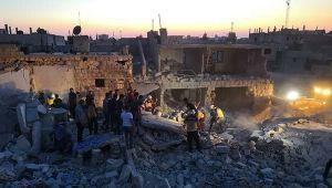 İdlib'e hava saldırıları: 5 kişi hayatını kaybetti