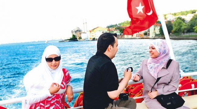 Emlak ve turist sayısında düşüş