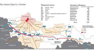Rusya, Çin'i Avrupa'ya bağlayacak olan meridyen otoyol projesini onayladı