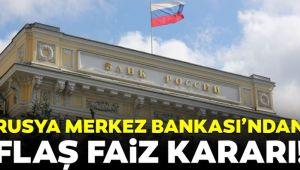 Rusya MB faiz indirimine gitti