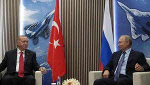 Erdoğan Putin görüşmesi sona erdi