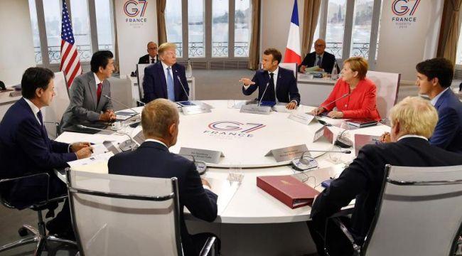 G-7 Zirvesi sona erdi: Trump'tan Ruhani ile görüşme sinyali
