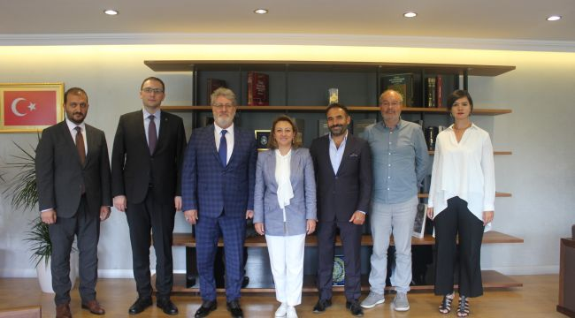 Telif hakları için MÜYORBİR ve MÜ-YAP'tan ortak ziyaret