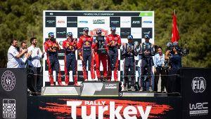 Türkiye Rallisi'nde Zafer Ogier'in