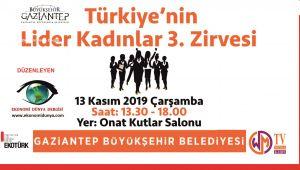 Türkiye'nin Lider Kadınlar 3.Zirvesi