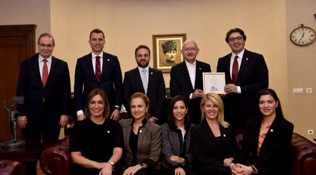 GYİAD, eğitim ve istihdam projelerini liderlerle paylaştı