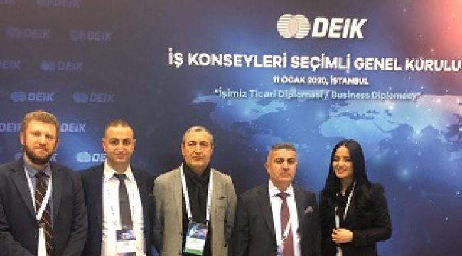 DEİK- Türk Lübnan İş Konseyi Başkanlığı koltuğunda!