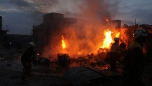 Rejim güçleri Halep'in batısında yerleşim alanlarını vurdu: 9 öldü