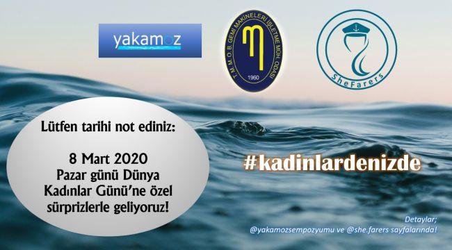 """8 Mart'ta""""KadınlarDenizde"""" İstanbul Boğazı'ndaKadınDenizcilerBuluşuyor"""
