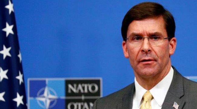 Esper: 'Taleban'la Şiddeti Azaltması Teklifini Görüşüyoruz'