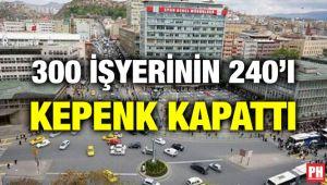 Tarihi Ulus'un iflası! 300 dükkanın 240'ı kepenk kapattı