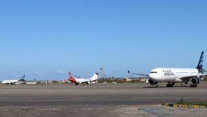 Trablus'un Mitiga Havalimanı Saldırılar Sonrası Kapatıldı