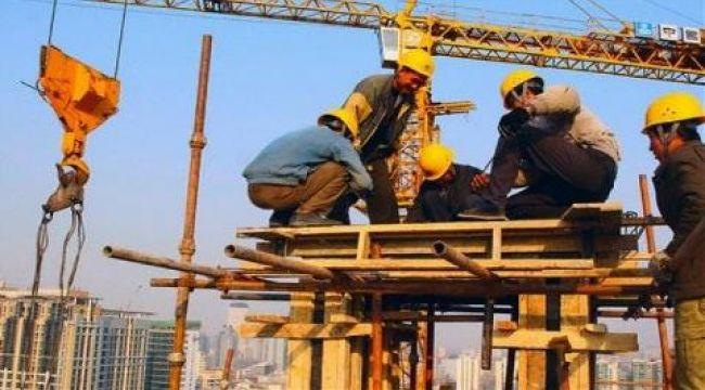 1 milyon 200 bin inşaat işçisi şantiyelerde