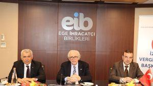 2003 yılında Ege İhracatçı Birlikleri ile İzmir Vergi Dairesi arasında kurulan iş birliği tıkır tıkır çalışıyor