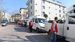 """AVCILAR'DA """"İYİLİK KOLİLERİ"""" YOLA ÇIKTI"""