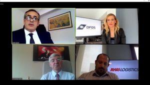 DFDS Akdeniz İş Birimi'nin düzenlediği video panelde ticaretin sürekliliği için çevreci yeni teknolojilerin önemi tartışıldı