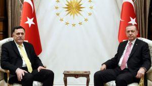 Ankara'da kritik Libya zirvesi! Erdoğan ve Serrac ortak açıklama yapıyor