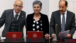 CHP'den 1 HDP'den 2 milletvekilinin milletvekillikleri düşürüldü