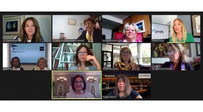 DFDS Akdeniz İş Birimi,KAGİDER iş birliğinde,Türkiyeve İtalya'dan kadın girişimcileri dijital ortamda buluşturdu