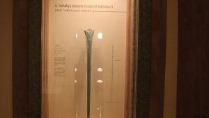 Hitit kılıcı İstanbul'da görücüye çıkıyor! Dünyada başka bir örneği yok