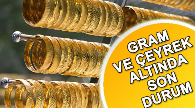 Altının kapanış fiyatları (09.07.2020)