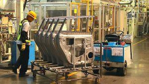 Avrupa Birliği`nde sanayi üretimi yükseldi