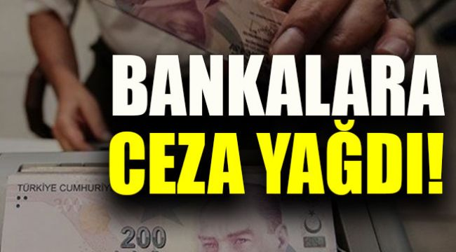 BDDK'dan 7 bankaya 204 milyon lira ceza